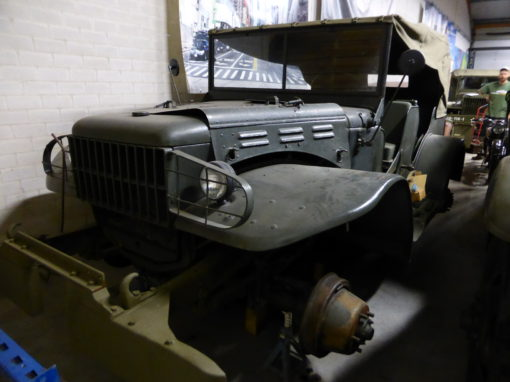 Dodge WC52 Command Car Project 1944