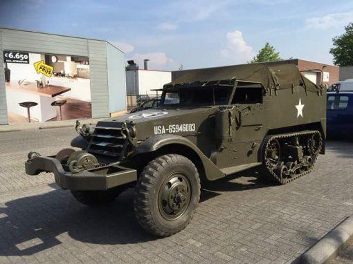 White M3 Half-track 1943