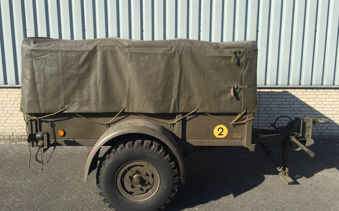 Polynorm trailer 1 ton (post-war)