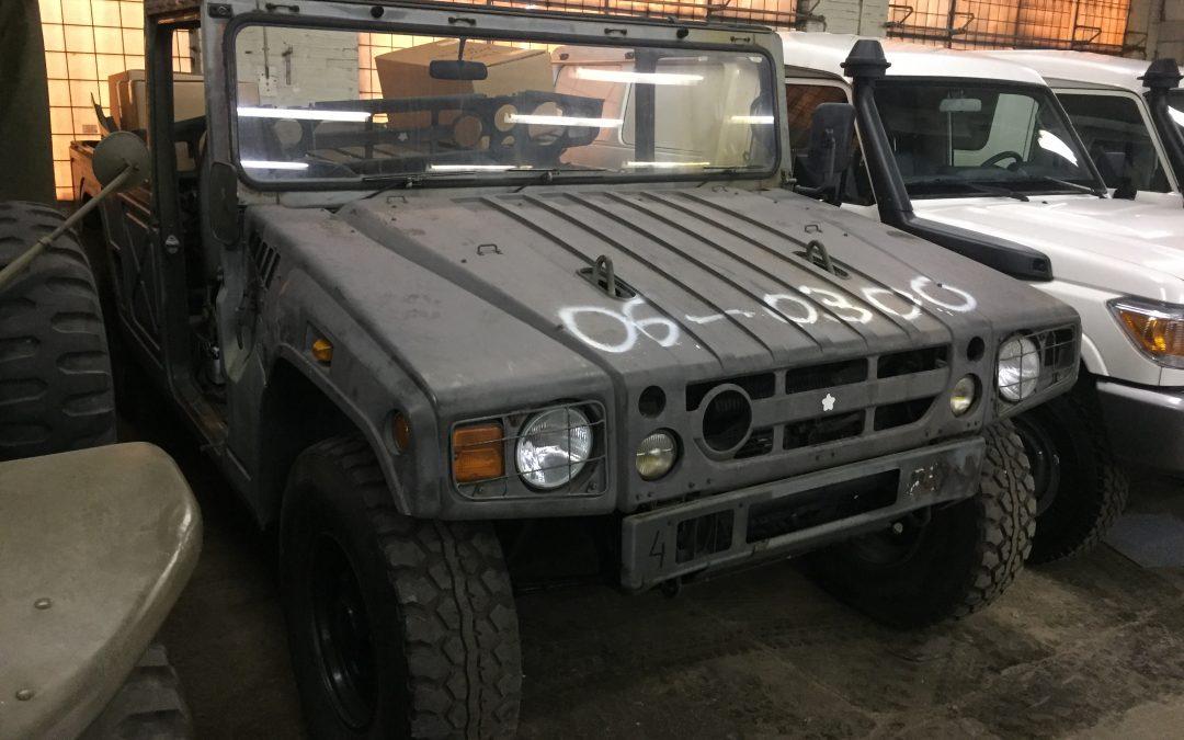 Toyota megacruiser 1997 (post war)